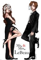 Mr. and Mrs. LeBeau by Joserinu