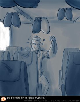 Jumping Melons Bus sketch by Gulavisual by qexiqex