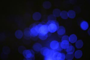 Blue Bokeh by KerovinBlack