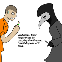 What you SHOULDN'T do to SCP-049 by KuluKnightofDarkness