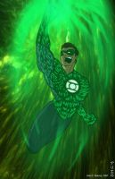 Green Lantern by kartoonista