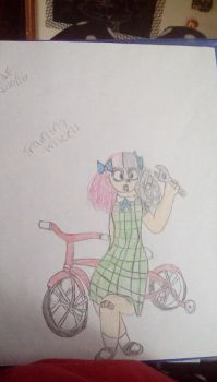 Melanie Martinez Training Wheels by childsplayfan