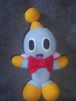 CHEESE THE CHAO PLUSHIE by Victim-RED