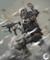 United Kingdom: Sci Fi Soldier by DoefCrew