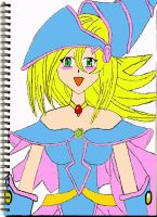 Dark Magician Girl COLOR by laprasking