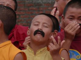 Monks in Mustaches 3 by ReivunChi