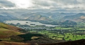View from Skiddaw Climb January 2012 by angussporran