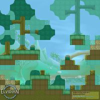 PicoDay Game Brackenwood Tileset by zeedox