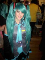 Cute Hatsune Miku by DaisyPhantom
