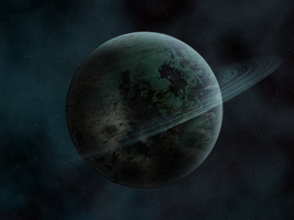 New Planet with Rings by Worldnewser