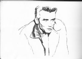 James Dean-WIP by XplojunZ
