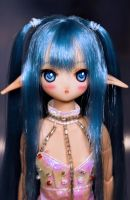 Aria-chan OOAK doll by L63player