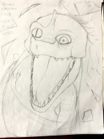 Croc monster by Moonshine92