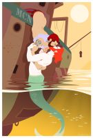 Sailor and Merman by AndreaLepre