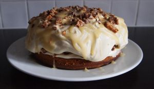 Caramel Butterscotch Snickers Cake 2 by BevisMusson