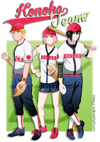Baseball Team 7 by Cassy-F-E