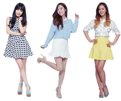 PNG TaeYeon Jessica and Yuri by jimikwon2518