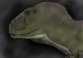 Carcharodontosaurus drawing by TheSpiderAdventurer