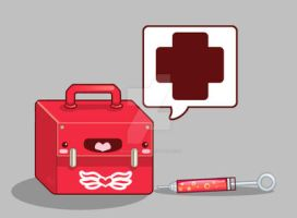 Medic Exclamation Point by marywinkler