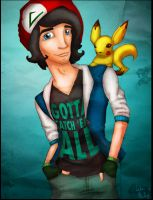 Ash Ketchum by Phillippeaux