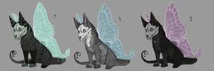 Skee adoptables batch 1 by Lunakia