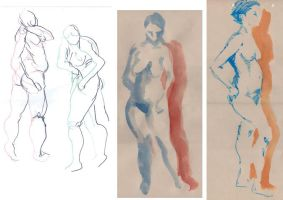 Life drawing 15-9-2010 s.1 by tigr3ss