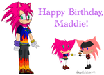 Happy Birthday, Maddie! by Donut449