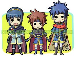 Chibi Smash Fire Emblem by BettyKwong