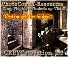 Greycstoration2.9pluginWinSse2 by photocomix-resources