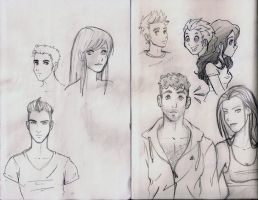 just drawings by roboba