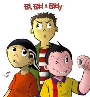 Ed, Edd n Eddy by Sea-Snail-Studio