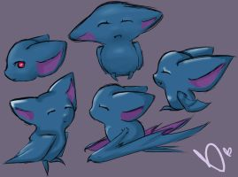 Zubats -- Lots of them. by BBopper