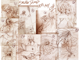 Sketch Dump May 2011 by chiili