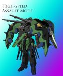 Gundam Amistad - High Speed Assault Mode by PinoyGundam