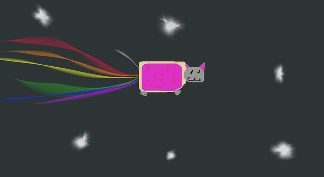EPIC NYAN CAT :D by ArthurKirk