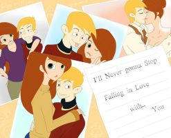 Never gonna stop falling in love with you by PSI-missing
