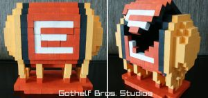 Gothelf Bros. - Metroid Energy Tank box by GothelfBrosStudios