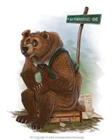 Brown Bear goes Travellin by balaa