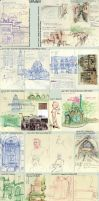 Spain in Sketches by korilin