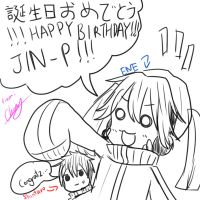 Happy Birthday, JIN-P! by Littlemay528