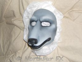 Wolf Face - Grey by NorthFurFX