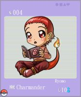 004_Charmander by YonYonYon