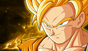 Goku Wallpaper by alanfernandoflores01