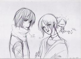 - muses doodle - by aramaki