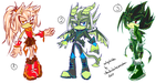 Sonic Adoptables #8 - CLOSED by shadowhatesomochao