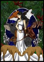 Goddess of the Hunt by LoreliAoD