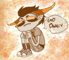 HS: Go Awey by EquilibriumArts