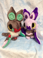 Noibat and Noivern by Glacdeas