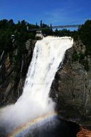 Montmorency falls II by evilcheese