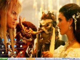 Labyrinth Desktop by MurderousCookie